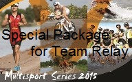 Multisport Series 2015 Package for Team Relay