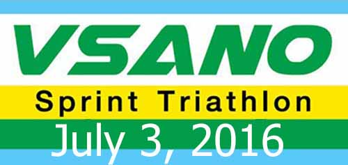 VSANO Sprint Triathlon (Solo) 3 July 16