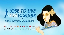POCARI SWEAT presents Lose to Live Run Together